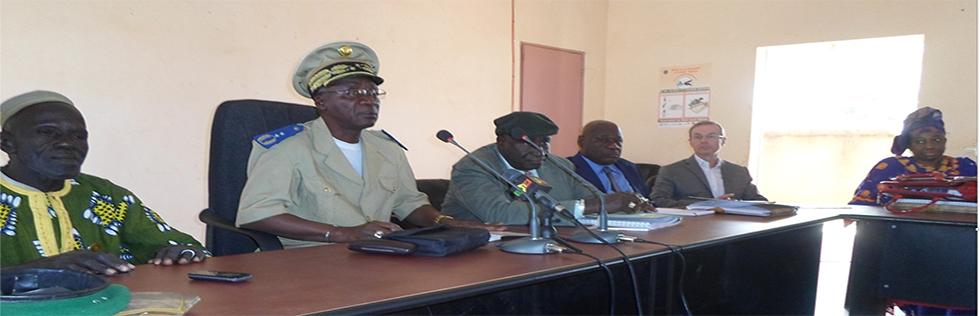 Troisième comité de pilotage du programme gedefor ii bafoulabe  février 2016