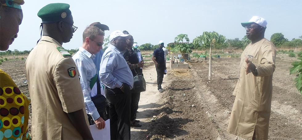 Mission de suivi de l'ambassade de Suède au Mali dans la zone de GEDEFOR ii du cercle de Kati